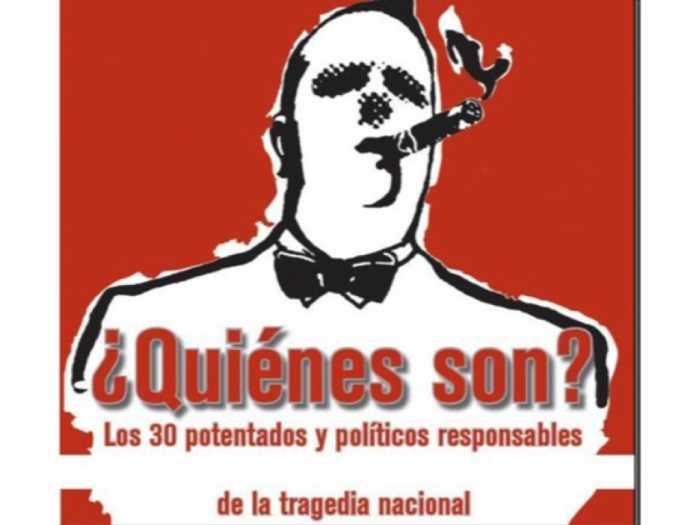 Los responsables de la tragedia nacional son 30