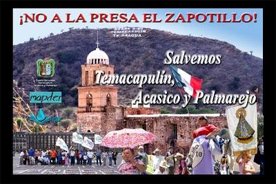 Tres pueblos resisten desde hace 12 años contra la presa El Zapotillo, Jalisco