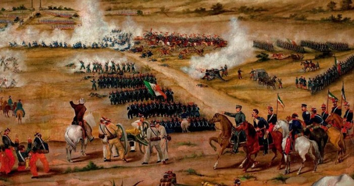 5 de mayo, la batalla