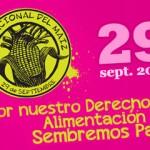 Día Nacional del Maíz, 29 de septiembre 2011