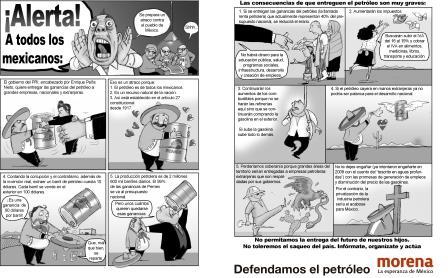¡Alerta a todos los mexicanos! Historieta por El Fisgón