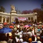 18M: Convoca Morena a muchedumbre en el Hemiciclo a Juárez