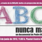 """Jornadas de solidaridad """"Justicia ABC"""""""