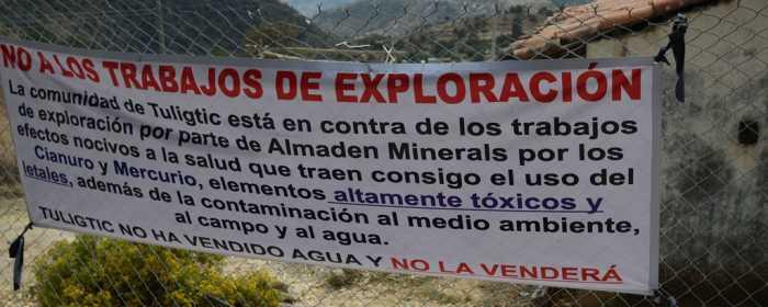 Repudian minería a cielo abierto en Puebla