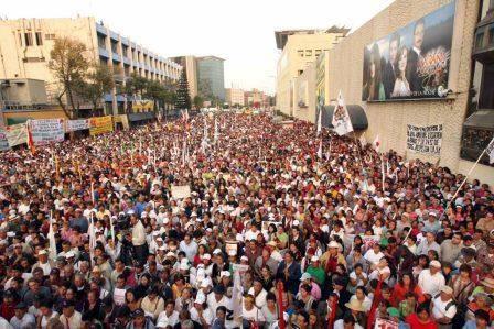 La #CNTE regresa al Zócalo
