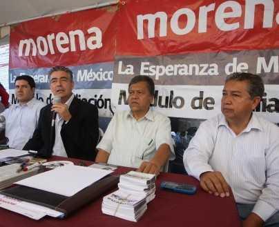 """Morena Jalisco impulsará campaña de firmas """"casa por casa"""""""