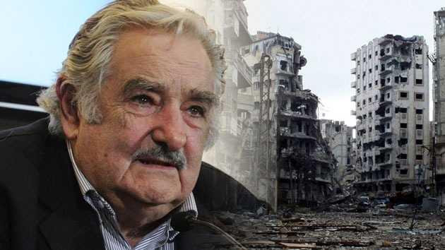 """La guerra es como """"intentar apagar una hoguera, echando más combustible"""" José Mujica"""