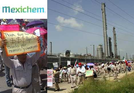 Trabajadores petroquímicos cuestionan privatización