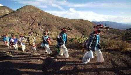 Cancelan concesiones a mineras en Wirikuta