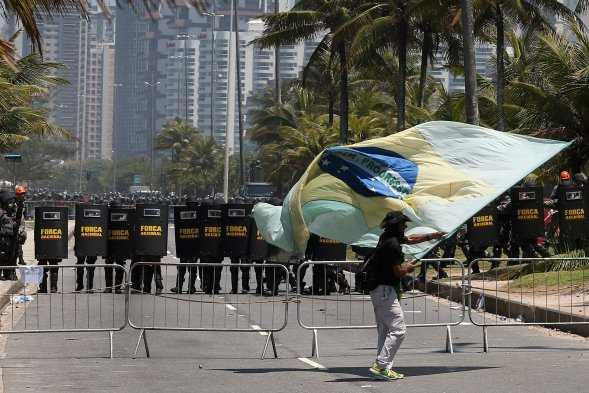 Brasil por la defensa del petróleo (Fotos y video)