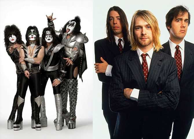 Kiss, Deep Purple y Nirvana nominados al salón de la Fama del Rock 2014