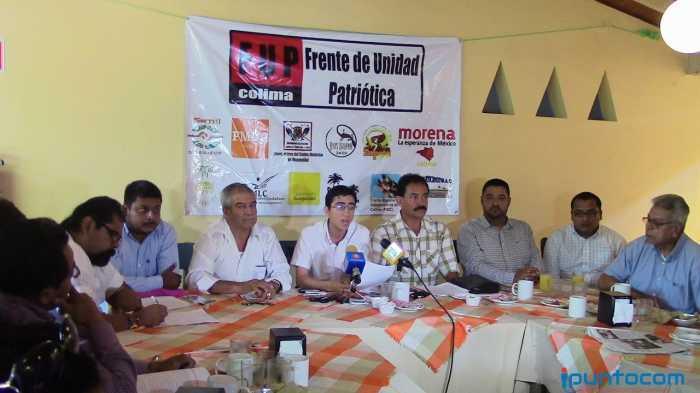 Colima: Surge Frente de Unidad Patriótica