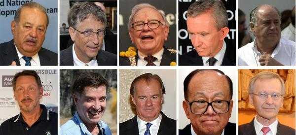 Multimillonarios duplicaron fortuna con crisis económica mundial