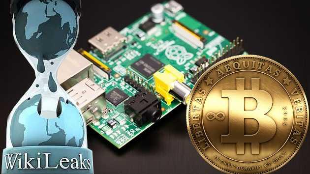 WikiLeaks, el Bitcoin y Raspberry Pi mejoraron el mundo