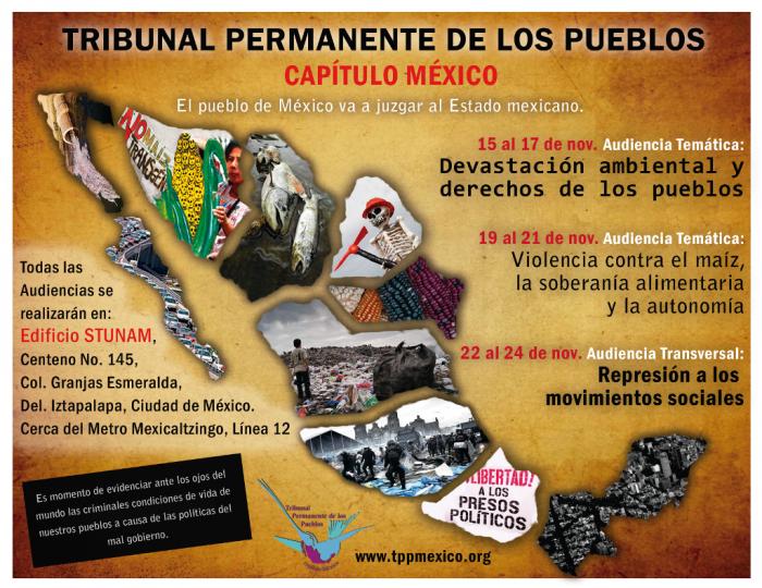 El pueblo de México va a juzgar al Estado mexicano