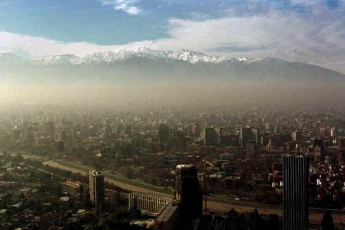 La contaminación acelera el cambio climático