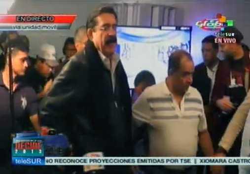 Cuestiona la izquierda, elección presidencial en Honduras