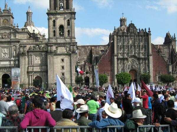Repudia Morena DF criminalización de la protesta en la ciudad