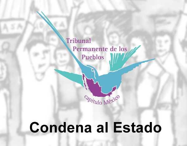 Condena TPP al Estado mexicano