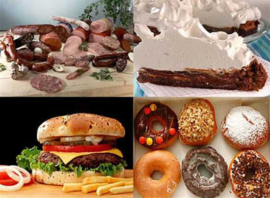 6 alimentos que contienen grasas malas