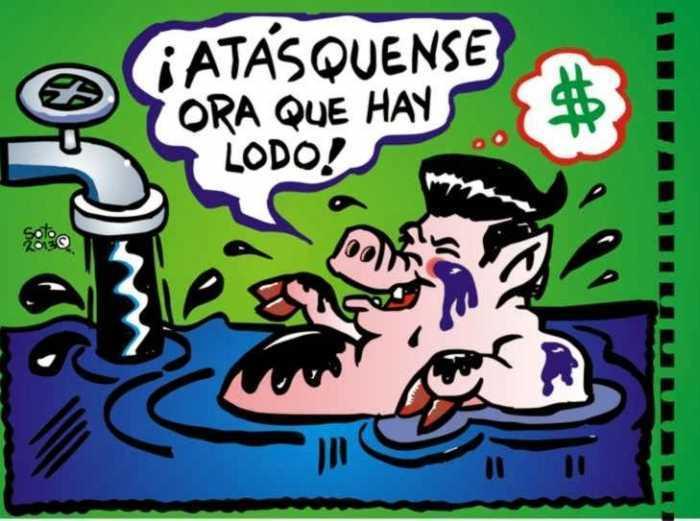 reforma energetica peña nieto privatiza pemex caricatura politica soto el metiche