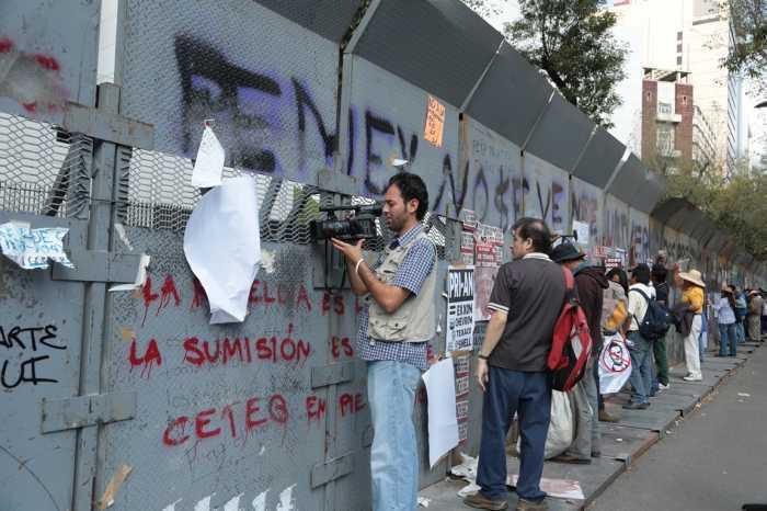 PRI, PAN y PVEM criminalizan la protesta en el DF