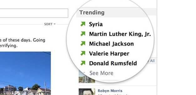 Facebook estrena 'Trending Topics'