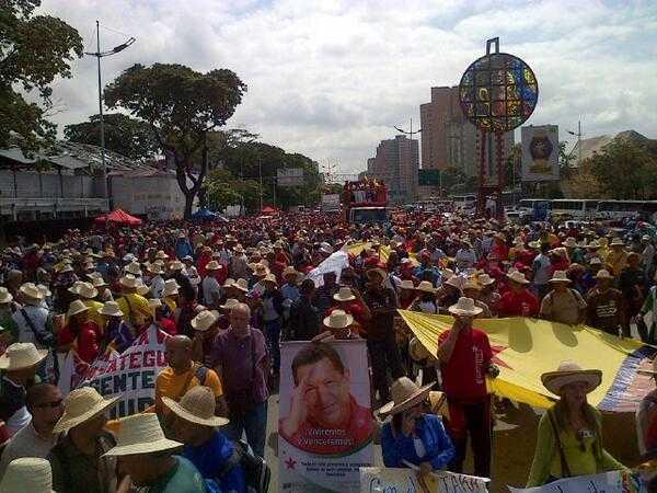 Campesinos y pescadores respaldan al gobierno de Nicolás Maduro