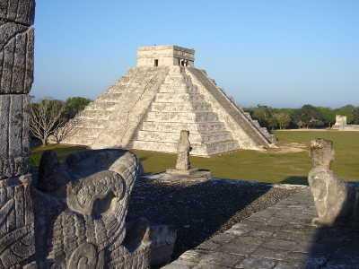 La serpiente de Chichén Itzá