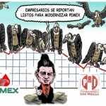 La forma de entregar Pemex a empresas privadas