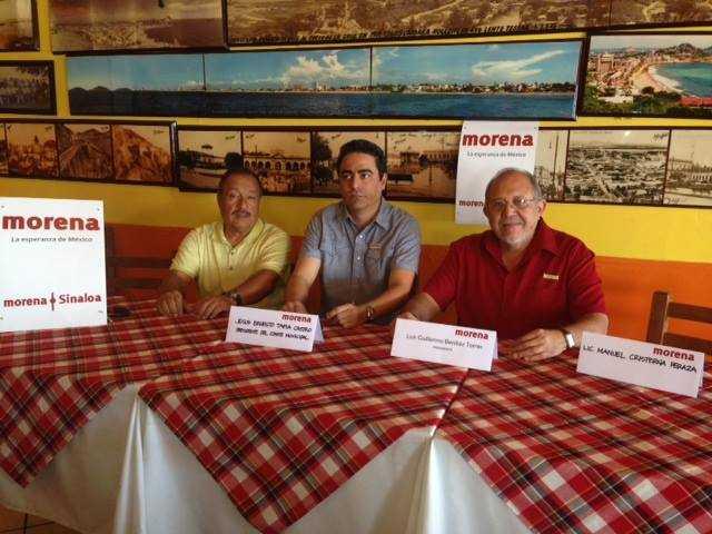 Lanza Morena Sinaloa llamado a no pagar el predial