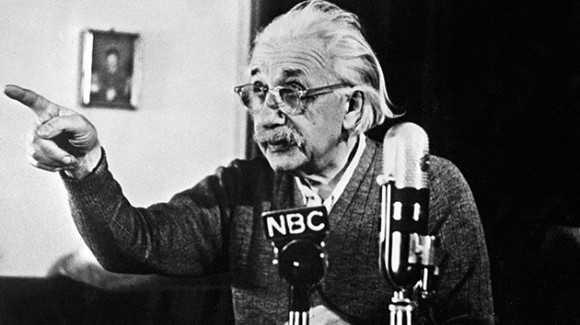 Albert Einstein estaba desarrollando su propia teoría del Big Bang