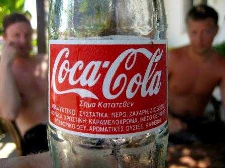 Grecia prohíbe consumo de Coca-Cola