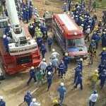 Huelga en Brasil tras muerte de obrero en estadio de futbol