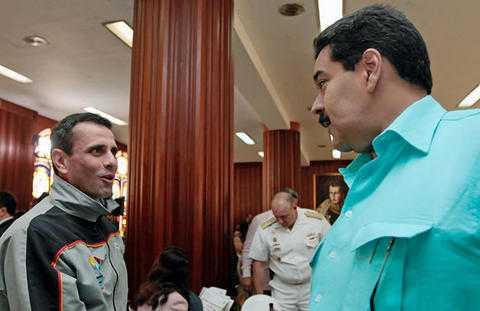 Capriles se desmarca de las protestas convocadas por Leopoldo López