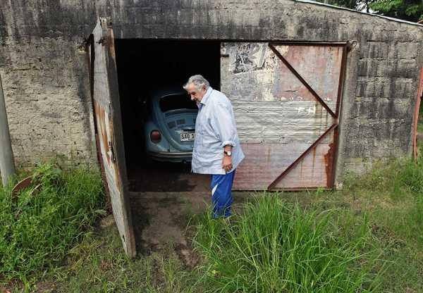 Así es la casa de Mujica, el presidente más pobre del mundo