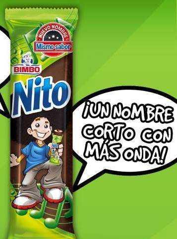 ¿Qué contiene el Nito Bimbo? (antes negrito Bimbo)