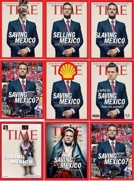 Gobierno de Peña pagó 576 mil pesos a Warner, editora de revista Time