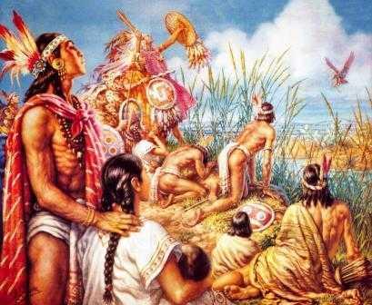 Los Mexicas fundan la Gran Tenochitlán, capital del imperio Azteca, el 13 de marzo