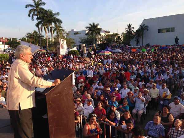 AMLO conmemora la Expropiación Petrolera en Villahermosa, Tabasco