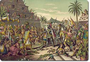 Hernán Cortés inicia la conquista de México el 14 de marzo de 1519