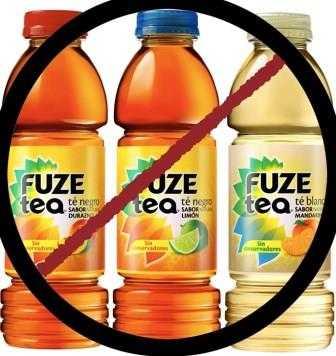¿Sabes qué contiene el Fuze tea, de Coca-Cola?
