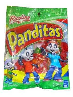 ¿De qué están hechas las Panditas de Ricolino?