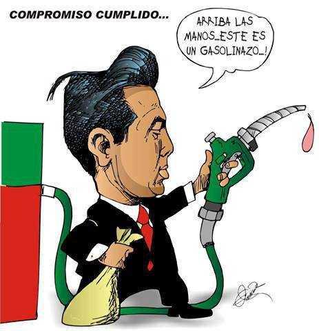 Tercer gasolinazo del año, Magna costará 12.50 pesos
