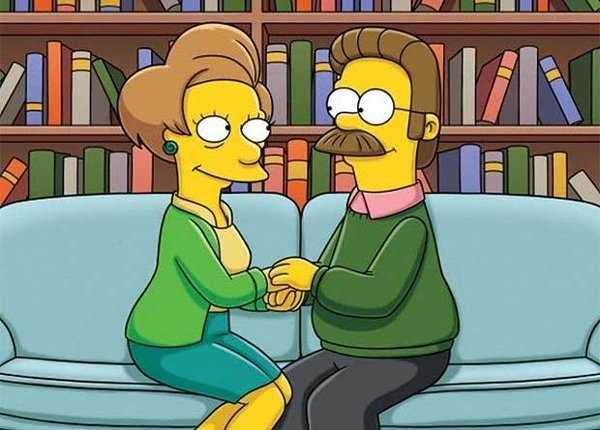 Los Simpsons rinden tributo a Edna Krabappel