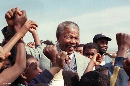 Nelson Mandela y el 'apartheid'
