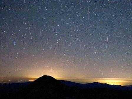 En mayo la tierra recibirá la mayor lluvia de meteoros en 14 años