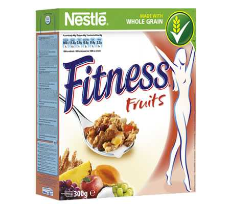 Análisis del cereal Fitness Fruits