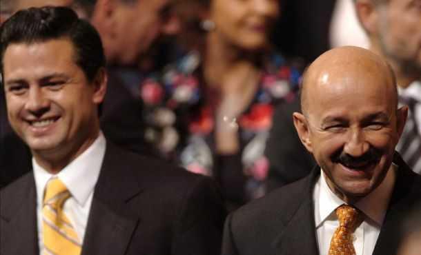 EPN, ministros, gobernadores, legisladores, funcionarios, empresarios y periodistas festejan cumpleaños de CSG