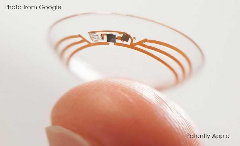 Google patenta lente de contacto capaz de capturar imágenes